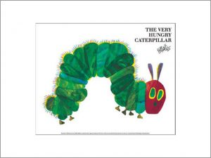 エリック・カール The Very Hungry Caterpillar