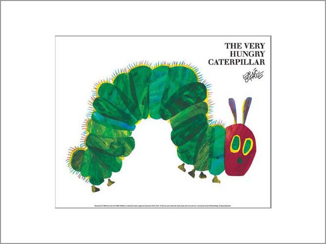 Eric Carle Mini Poster [The Very Hungry Caterpillar]