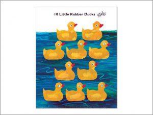 エリック・カール 10 Little Rubber Ducks